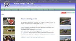Preview of cambridgecarclub.co.uk