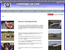 Tablet Preview of cambridgecarclub.co.uk